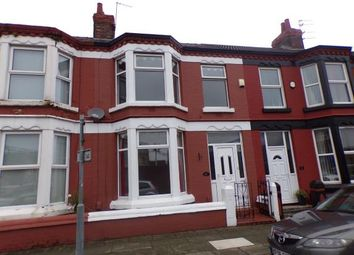 Thumbnail 3 bedroom terraced house for sale in Fallowfield Road, Wavertree, Liverpool