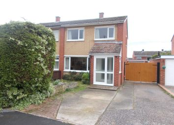 Thumbnail 3 bed semi-detached house for sale in Broadway Close, Shrewsbury