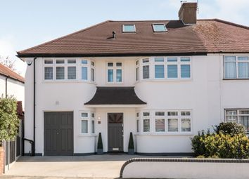 Thumbnail 5 bed semi-detached house for sale in Churchbury Lane, Enfield