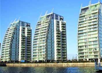 Thumbnail 2 bedroom flat for sale in N V Building, 100 The Quays, Salford