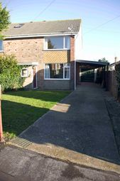 Thumbnail 3 bed semi-detached house to rent in Fir Tree Road, Hayling Island