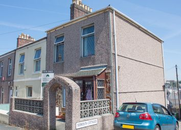 Thumbnail 3 bedroom end terrace house for sale in Sidmouth Cottages, Mutley, Plymouth