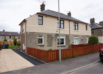 Thumbnail 1 bed flat for sale in Jackson Avenue, Grangemouth