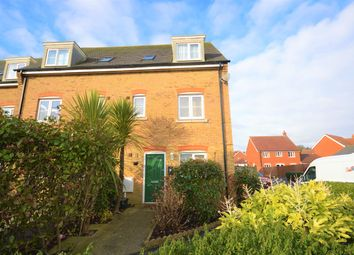 Thumbnail 5 bed town house for sale in Kinson Way, Whitfield, Dover
