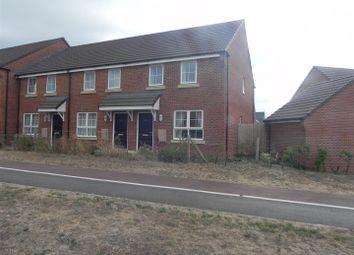 Thumbnail 2 bedroom end terrace house for sale in Plot 18, 36 Port Stanley Close, Norton Fitzwarren, Taunton