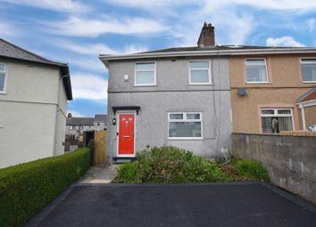Thumbnail 3 bedroom semi-detached house for sale in Llwyn-On Crescent, Oakdale, Blackwood