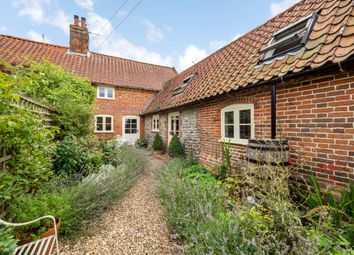 Thumbnail 3 bed cottage for sale in Sustead, Norwich