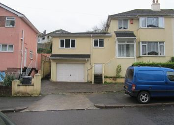 Thumbnail 1 bed flat to rent in Occombe Valley Road, Preston, Paignton