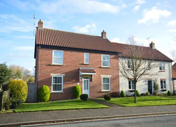 Thumbnail 4 bed semi-detached house for sale in Ash Court, Foxholes, Driffield