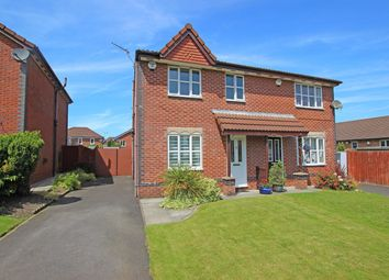 Thumbnail 3 bed semi-detached house for sale in Leeward Close, Lower Darwen, Darwen