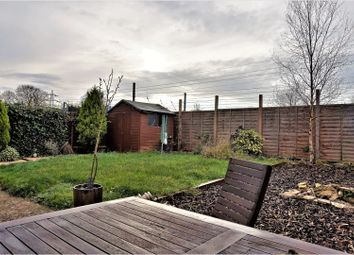 Thumbnail 2 bed end terrace house for sale in Marholm Road, Peterborough