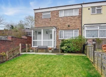 Thumbnail 3 bed end terrace house for sale in Churchill Avenue, Chatham, Kent