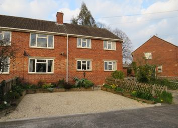 Thumbnail 2 bed flat for sale in Churchill Road, Blandford Forum