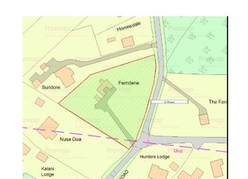 Thumbnail Land for sale in Lake View Road, East Grinstead, West Sussex