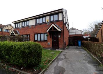 Thumbnail 3 bed semi-detached house for sale in Lion Street, Blackley, Manchester