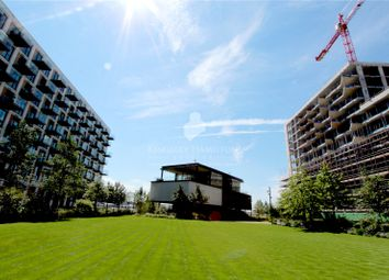 Thumbnail 2 bed flat for sale in Compass House, Royal Wharf, London