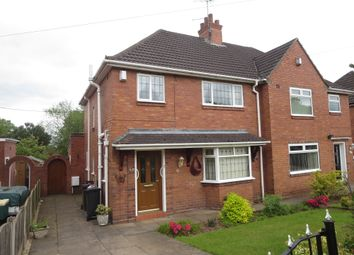 Thumbnail 3 bed semi-detached house for sale in Earls Drive, Clayton, Newcastle