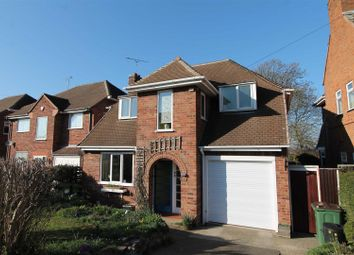 Thumbnail 3 bed detached house for sale in Ash Tree Road, Oadby, Leicester