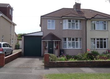 Thumbnail 3 bed semi-detached house for sale in Dunkeld Avenue, Filton, Bristol