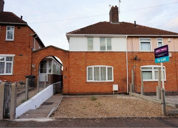 Thumbnail 3 bed semi-detached house to rent in Swannington Road, Leicester