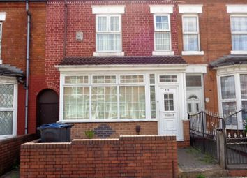 Thumbnail 3 bed terraced house for sale in Banks Road, Small Heath, Birmingham