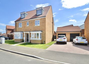 Thumbnail 5 bed detached house for sale in Mallard Way, Exning, Newmarket