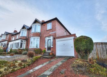 Thumbnail 3 bed semi-detached house for sale in The Dunterns, Alnwick, Northumberland