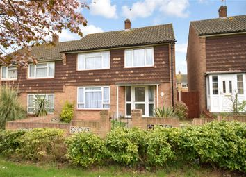 Thumbnail 4 bed semi-detached house for sale in Mitchell Walk, Swanscombe, Kent