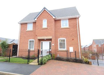 Thumbnail 3 bed detached house for sale in Sutton Avenue, Silverdale, Newcastle