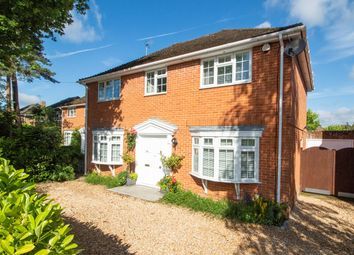 Thumbnail 4 bed detached house for sale in Wood Lane, Fleet