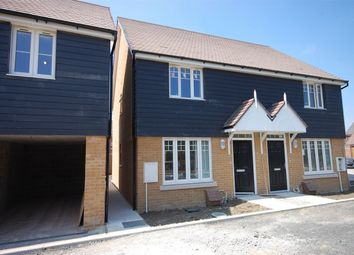 Thumbnail 2 bed semi-detached house for sale in Pulver Road, Aylesbury, Buckinghamshire
