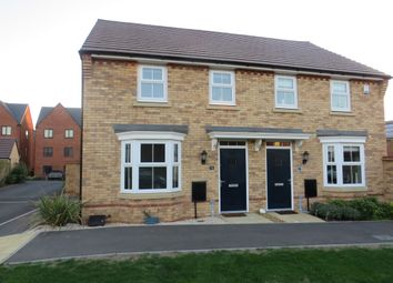 Thumbnail 3 bed semi-detached house for sale in Bacchus Lane, Fairfields, Stony Stratford