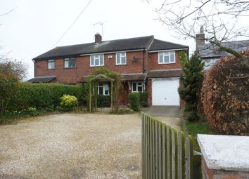 Thumbnail 4 bed semi-detached house to rent in Aldford Road, Huntington, Chester