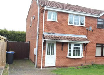 Thumbnail 3 bed semi-detached house for sale in Knights Link, Earl Shilton, Leicester
