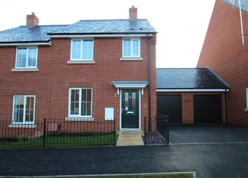 Thumbnail 3 bed semi-detached house to rent in Laxton Road, Berryfields, Aylesbury
