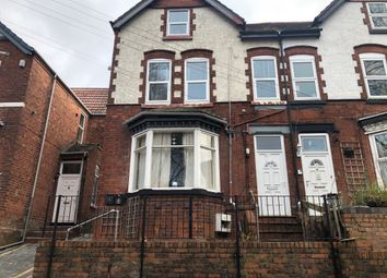 Thumbnail 1 bed flat to rent in Rowley Street, Walsall, West Midlands