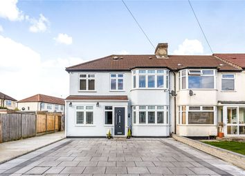 Thumbnail 4 bed end terrace house for sale in Newby Close, Enfield