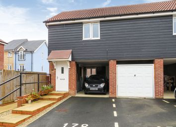 Thumbnail 2 bed property for sale in Falcon Crescent, Costessey, Norwich