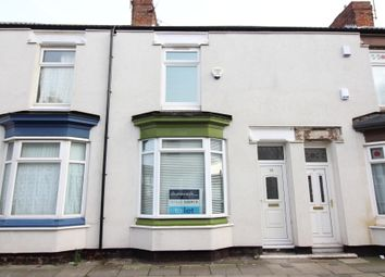 Thumbnail 2 bed terraced house to rent in Romney Street, Middlesbrough