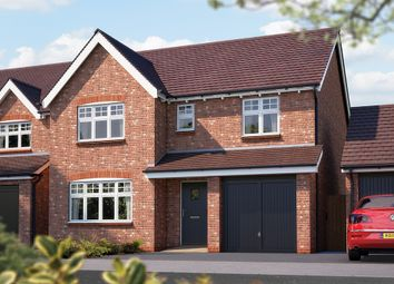"Thumbnail 4 bed detached house for sale in ""The Lincoln"" at Canon Ward Way, Haslington, Crewe"