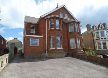 Thumbnail 1 bed flat for sale in Franklin Road, Weymouth, Dorset