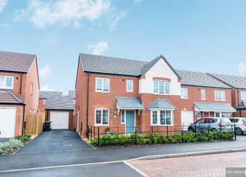 Thumbnail 4 bed detached house for sale in Wharf Cottages, Watling Street, Grendon, Atherstone