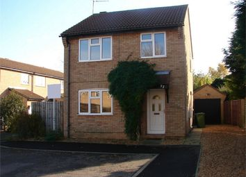 Thumbnail 3 bed detached house to rent in Peate Close, Godmanchester, Huntingdon
