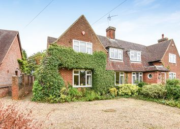 Thumbnail 3 bed semi-detached house for sale in Chequers Lane, Preston, Hitchin