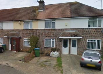 Thumbnail 2 bedroom terraced house to rent in Conbar Avenue, Rustington, Littlehampton
