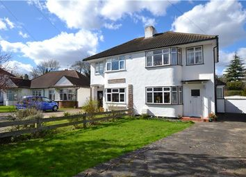 Thumbnail 3 bedroom semi-detached house for sale in Rosecroft Close, Orpington, Kent