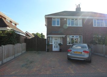Thumbnail 3 bed semi-detached house for sale in Heath Avenue, Werrington, Stoke-On-Trent