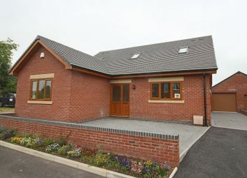 Thumbnail 3 bed detached house for sale in Hospital Drive, Shropshire Street, Market Drayton