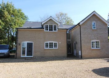 Thumbnail 4 bed detached house for sale in Gatehouse, Thompson Road, Griston, Thetford, Norfolk