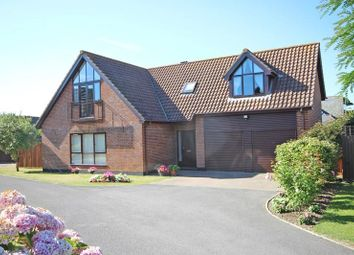 Thumbnail 4 bed detached house for sale in Inglegreen Close, Barton On Sea, New Milton